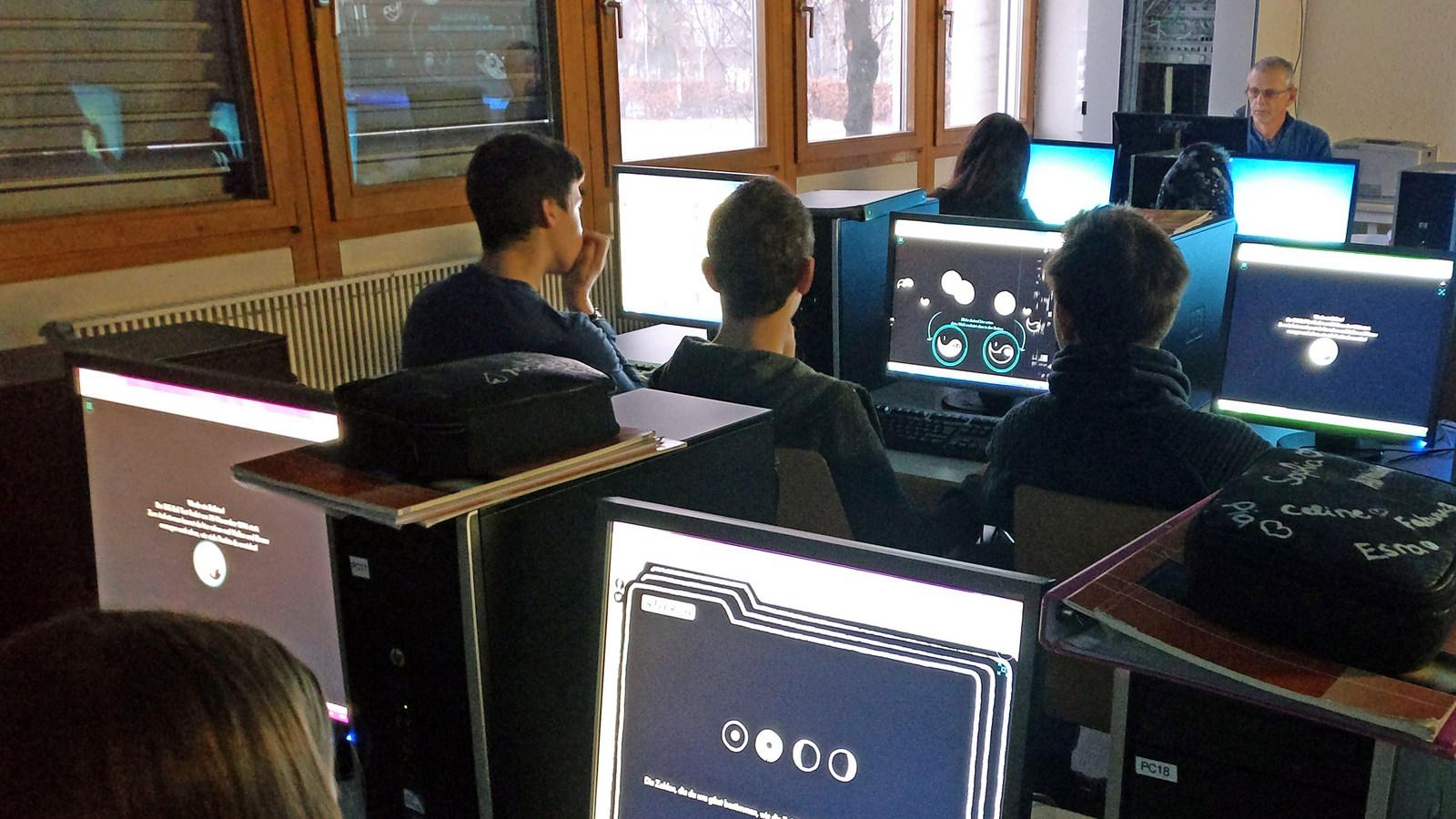Unsere Schüler als Quantenforscher: MS Haselstauden